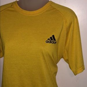 Yellow Adidas Top